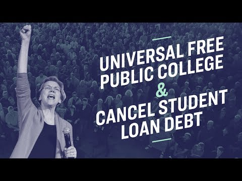 Elizabeth Warren's Student Loan Debt Cancellation Plan Is A GAME Changer