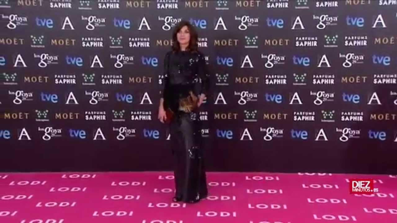 La alfombra roja de los Premios Goya 2014 | Diez Minutos ...