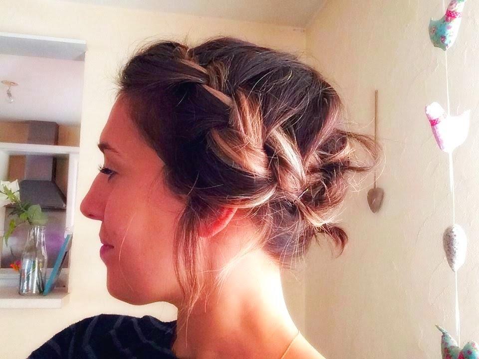 Coiffures Simples Et Rapides Sur Cheveux Courts Part 4 Youtube