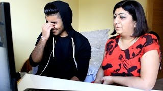 INDIAN MUM REACTS TO NICKI MINAJ - ANACONDA
