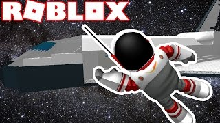 FLYING TO SPACE IN ROBLOX