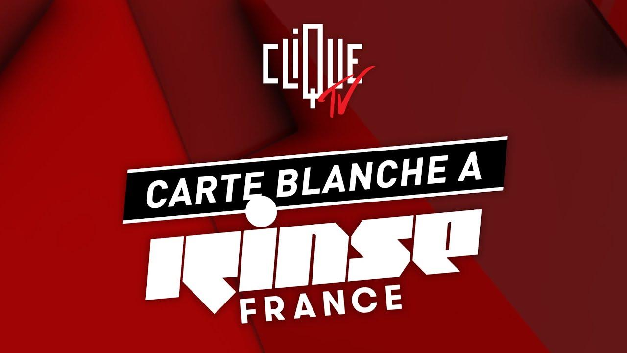 Clique donne carte blanche à Rinse France - Clique XL - YouTube