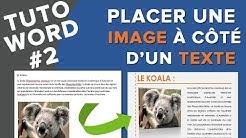 Tuto Word #2 - Mettre une image à côté d'un texte