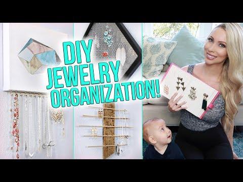 12 Jewelry Organization Ideas!