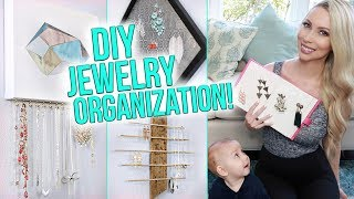 12 Jewelry Organization Ideas!