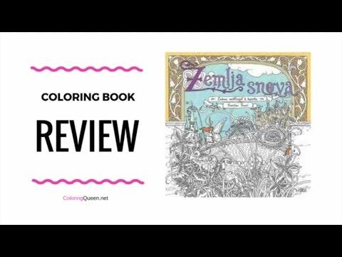Zemlja Snova (Land of Dreams) Coloring Book Review - Tomislav Tomic