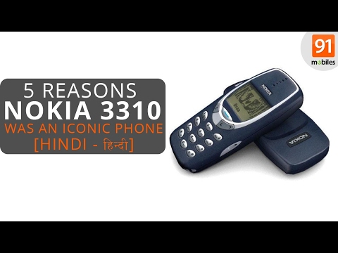 Top 5 reasons why the Nokia 3310 was an iconic phone