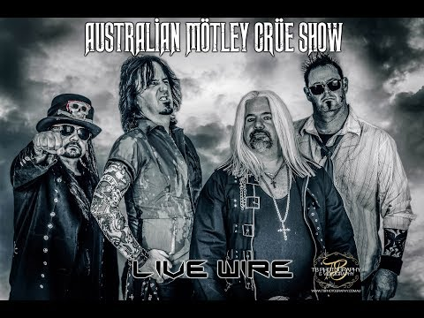 Australian Motley Crue Show   Live Wire Live at the Clovercrest Hotel Adelaide