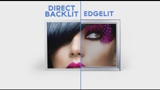 Direct Backlit Vs. Edgelit Lightboxes