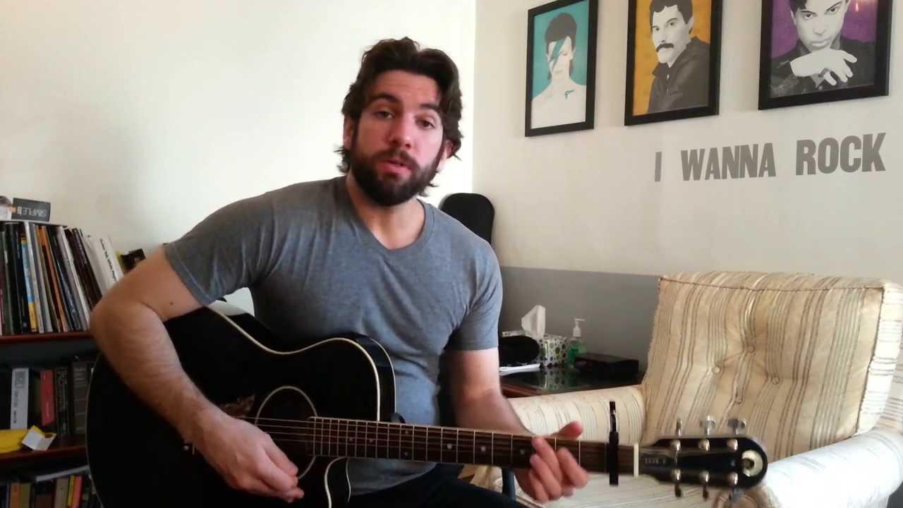 Christina Perri Human Guitar Chords Lesson By Shawn Parrotte
