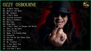 Скачать Ozzy Osbourne Greatest Hits Full Album The Best Of Ozzy Osbourne Playlist