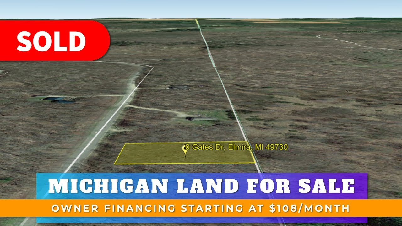 Just Sold By WeSellNewYorkLand.com - Cheap Land For Sale Lot 300 Gates Dr Elmira, Michigan
