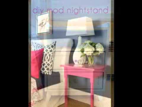 diy nightstand table ideas easy diy nightstand decorations ideas youtube