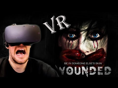 Wounded In VR - Awesome Indie Horror Game Using VorpX