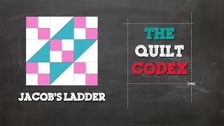 Jacob' S Ladder Quilt Block Tutorial