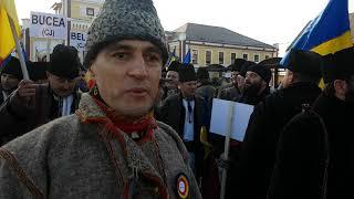 Mars peste timp a romanilor din Huedin, Oradea, Rachitele, din tot judetul Cluj