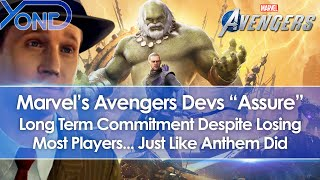 "Marvel's Avengers Devs ""Assure"" Long Term Commitment Despite Losing Most Players... Just Like Anthem"