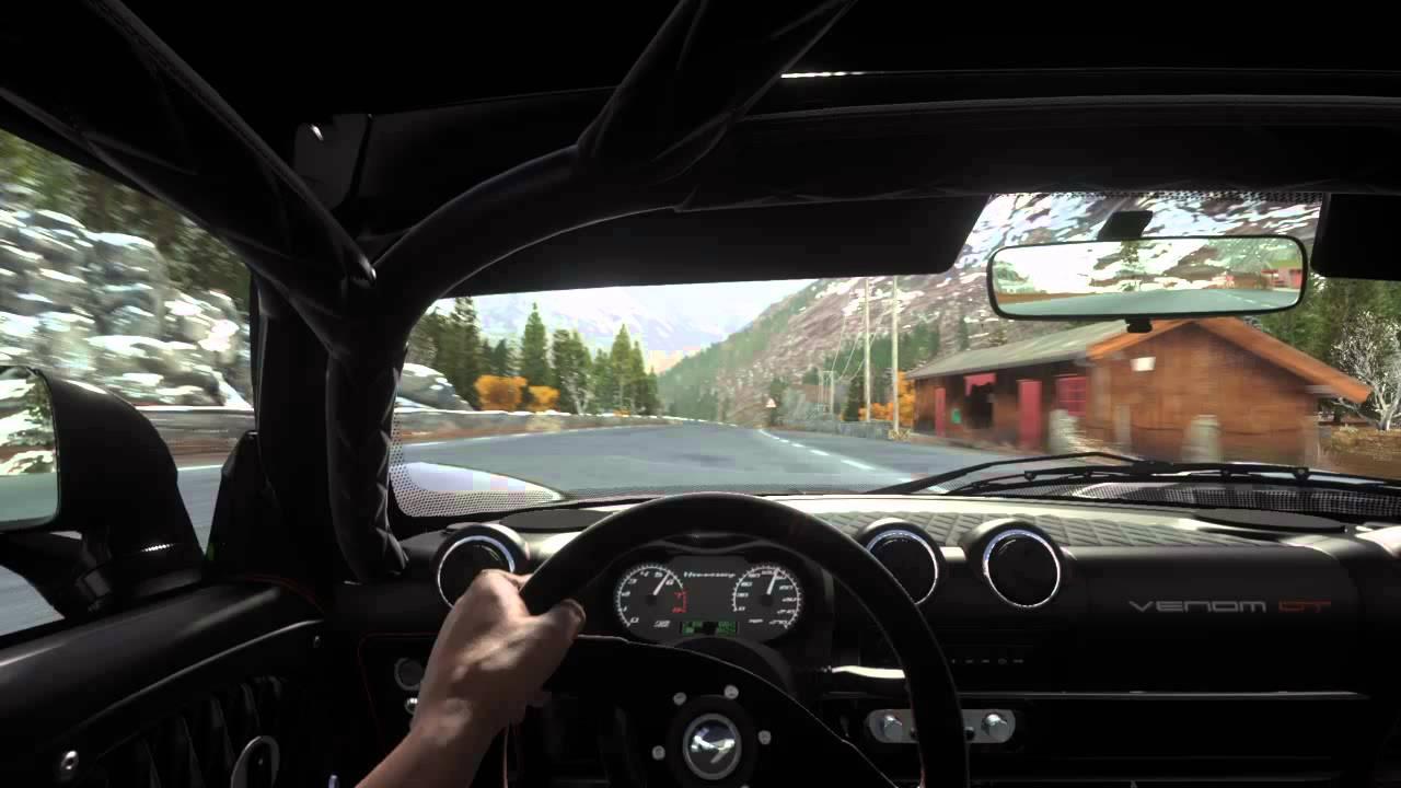 DRIVECLUB Hennessey Venom GT   Cockpit View   No Hud