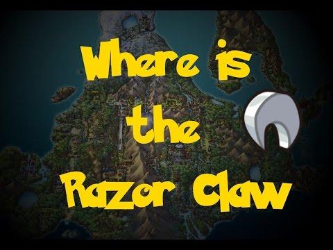 Where Is: The Razor Claw (Pokemon Diamond/Pearl/Platinum)