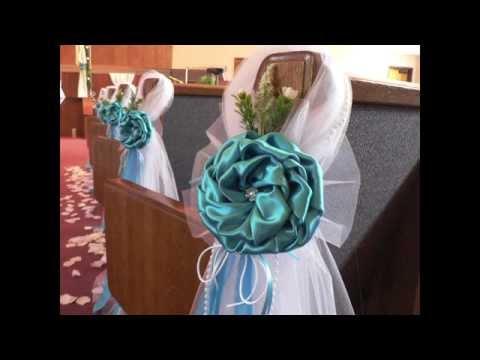 decoracion iglesias para bodas