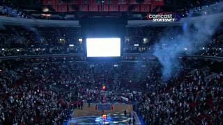 2012 Philadelphia 76ers Home Opener Introductions || HD