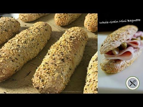 Whole-Grain French Mini Baguette – Bruno Albouze