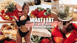 WHAT I EAT IN A DAY/INTERMITTENT FASTING 2019: How I Lose Weight/Easy Affordable Healthy Meal Ideas