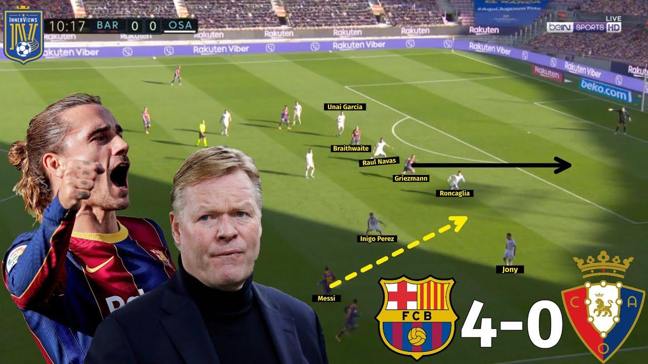 Download How Griezmann's Movement DESTROYED Osasuna   Barcelona vs Osasuna 4-0   Tactical Analysis