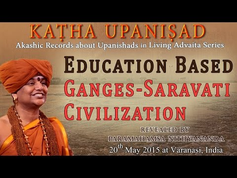 Education Based Ganges-Sarasvati Civilization