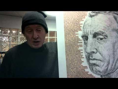 Corrie's Steve Huison talks art