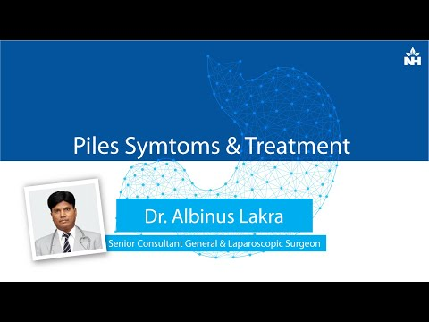 What are the symptoms and treatment for Piles?