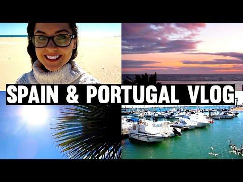 Spain & Portugal 2016   Travel Vlog   KatesBeautyStation