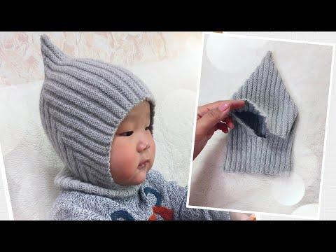 Шлем шапочка спицами