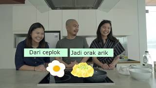 MASAK TELUR SAMA ABANG - GIGALAB #1