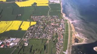 Rundflug - Stein an der Ostsee
