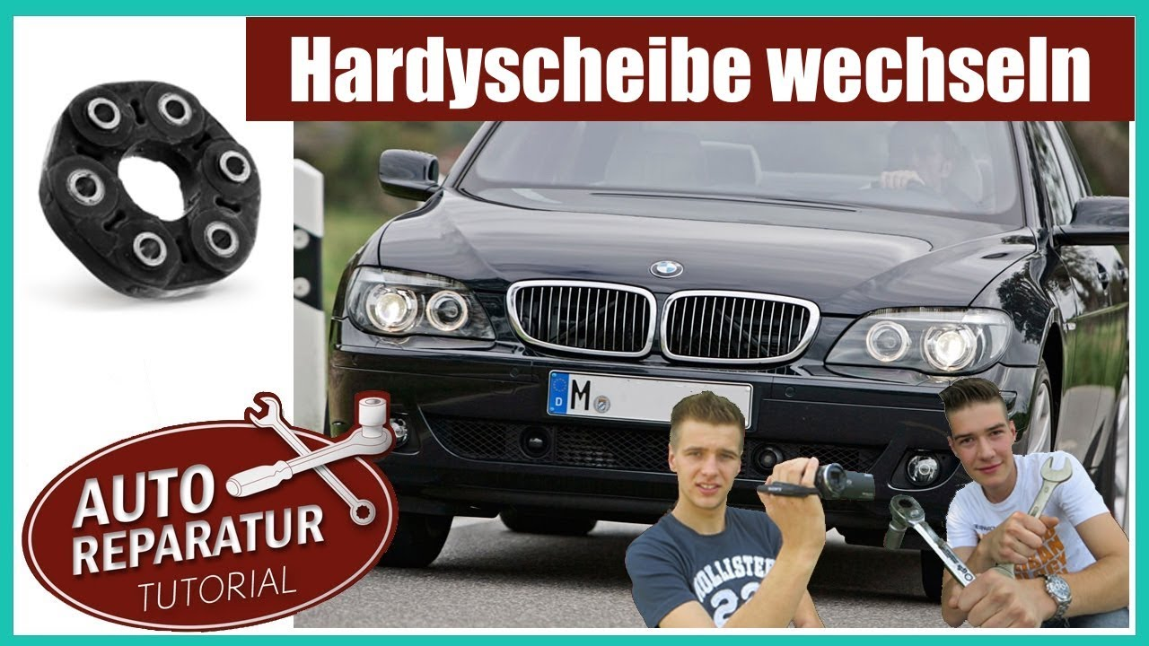 bmw hardyscheibe wechseln e46 e60 e65 e90 auto. Black Bedroom Furniture Sets. Home Design Ideas