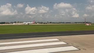 Breeze Airways Embraer 195 Takeoff Tulsa  - San Antonio