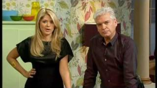Sex toys feature makes Holly laugh - This Morning 24th February 2010