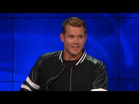 Colton Underwood on his Bachelorette Elimination & his Charity