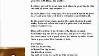 Novena to St. Joseph - Day 9 of 9.mp4