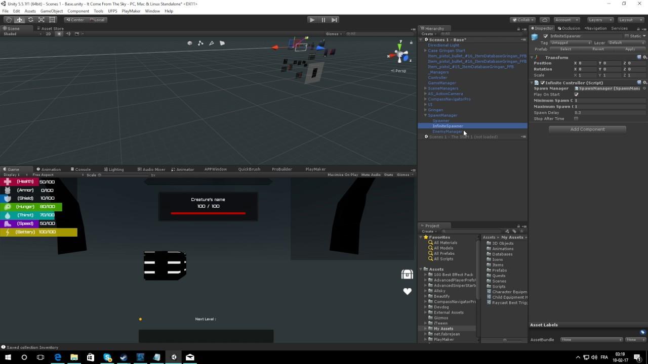 Unity 3D Tactical Shooter AI Aggro Spawn Bug