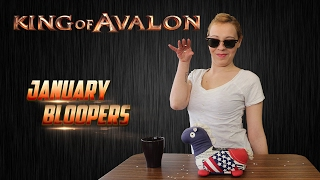 Lady of Avalon - January Bloopers and Outtakes Compilation(King of Avalon – Dragon Warfare Download now! http://bit.ly/Download_KoA With subtitles. Please click
