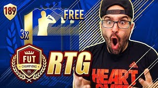 HOLY SH*T WE GOT 3 INSANE TOTS *FREE* FIFA 18 Ultimate Team #189 RTG