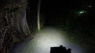 nitecore HC60 - a good headlamp- Review: Runtime and Beamshots
