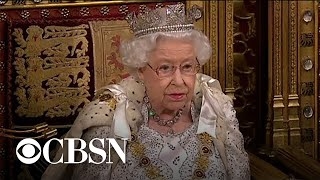 Queen Elizabeth addresses Parliament as Brexit deadline approaches