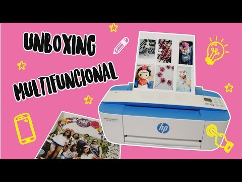 UNBOXING  HP DESKJET 3775 MULTIFUNCIONAL  REVIEW  IMPRIME TUS FOTOS