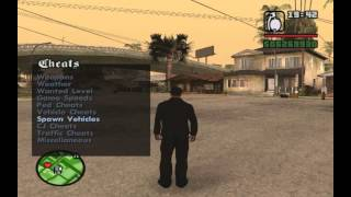 Tuto Pour Installer Cheat Menu Sur Gta Sa - PC