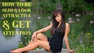 How to become slim, Lose weight eating delicious food - and Look attractive. Weight loss video.