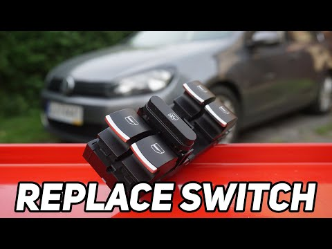 How to replace VW window master switch