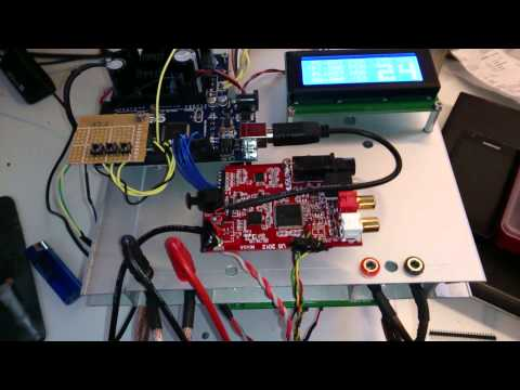 DIYINHK ES9018 and Musiland 01USD 2012 and B&O ASP1000 with HiFiDuino setup